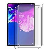 JIENI Protector Pantalla para Lenovo Tab P11,Xiaoxin Pad, TB-J606F (11.0'),[3 Pack] Dual Protector de Pantalla en Cristal Templado para Lenovo Tab P11,TB-J606F - Dureza 9H - Alta Definicion