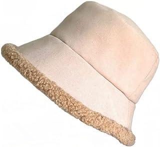 Sombrero de Cordero Cara otoño e Invierno Sombrero de Pescador Muestra pequeña Olla Retro Femenina día cálido Salvaje