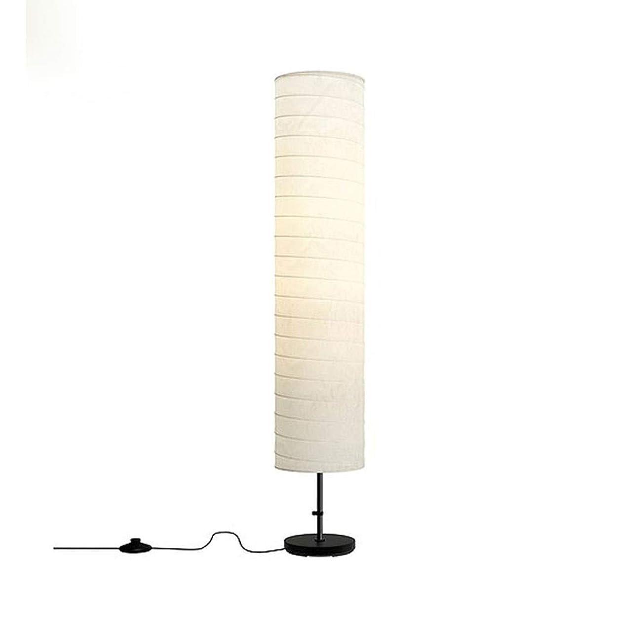 散らす妻レベルフロアスタンド LEDフロアランプ、フロアランプソフトスムーズなリラックスリビングルーム/寝室立ちライト、垂直フロアランプ、金属、46インチ、白H116cm ホーム屋内照明フロアスタンド?ランプ (Color : White, サイズ : 8.7*45.7inchs)