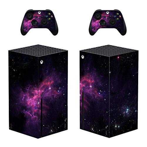 DolDer Skin Sticker/Aufkleber Folie schützende Haut Schale für Xbox Series X Konsole und 2 Dualshock Controller -0383