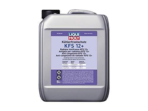 Liqui Moly Kühlerfrostschutz Kühlerschutz Kühler Frostschutz Sommer Winter Frost Schutz Radiator Antifreeze KFS 12+ 5L