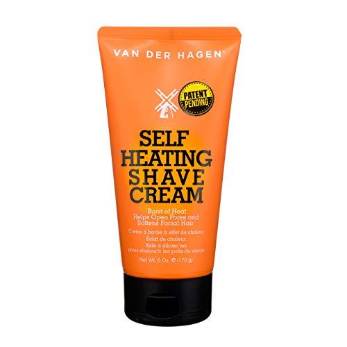 Price comparison product image Van Der Hagen Self-Heating Shave Cream (6 oz)