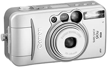 Canon Sure Shot 2848 35mm Film Point and Shoot Camera *TESTED*