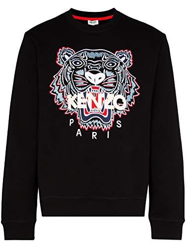 Kenzo Luxury Fashion Herren FA55SW0014XA99 Schwarz Baumwolle Sweatshirt   Frühling Sommer 20