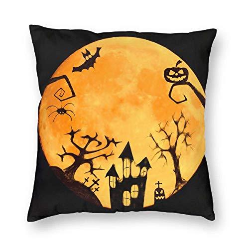 Funny Club Fundas de almohada cuadradas suaves para decoración del hogar, decoración del hogar, regalo para sofá, dormitorio, coche, 45,7 x 45,7 cm