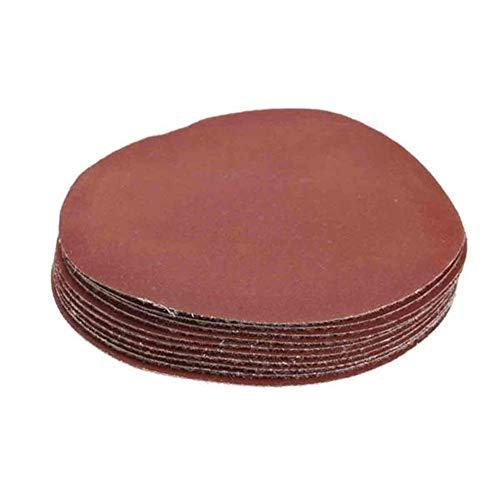 JF-XUAN 100 Piezas de 4 Pulgadas Discos de Lijado 80-3000 Grit Mezcla Sander Conjunto de Discos de 100 mm de Lija Almohadillas de Pulido Abrasivos Productos de Acabado