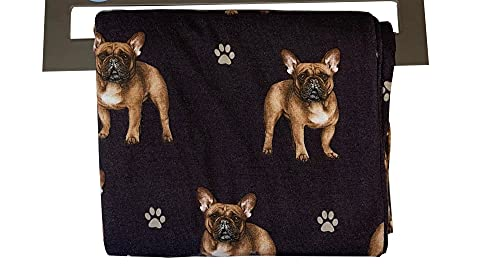 Pet Lover Pajama Pants – New Cotton Blend - All Season - Comfort Fit Lounge Pants for Women and Men - 27 Breeds Available (Small, French Bulldog)