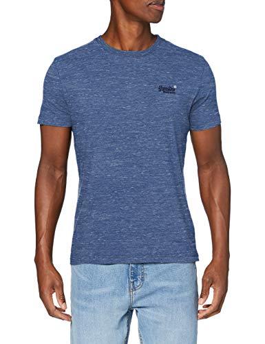 Superdry OL Vintage EMB tee Camiseta, Ojo Azul de Marea, X-Large para...