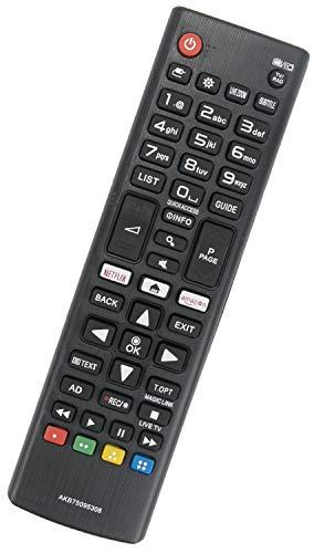 ALLIMITY AKB75095308 Control Remoto reemplazado por LG TV 32LJ610V 49UJ634V 65UJ634V 49UJ6309...