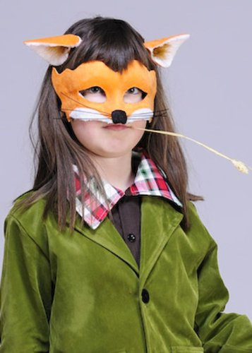 Fantastic Mr Fox pour Enfant Style Orange Fox Masque et oreilles