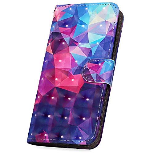 Surakey - Funda para Xiaomi Mi 6 con diseño de purpurina en 3D
