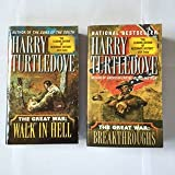 The Great War Series (2 Books) Walk in Hell (#2) and Breakthroughs (#3), By Harry Turtledove