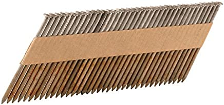 Hitachi 15136 3-Inch x 0.120-Inch Smooth Shank Hot-Dipped Galvanized Clipped-Head Paper Tape Framing Nails 2500-Pack