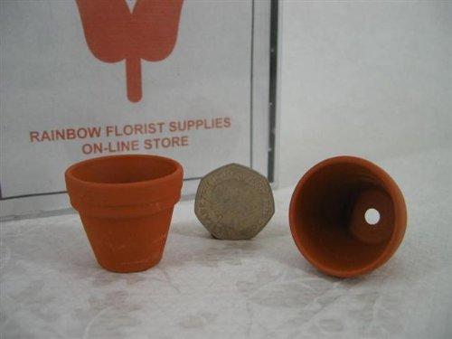 RAINBOW Mini vasi di Fiori in Terracotta 35mm