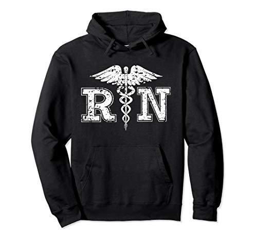 R.N. Registered Nurse Pullover Hoodie for Nurses