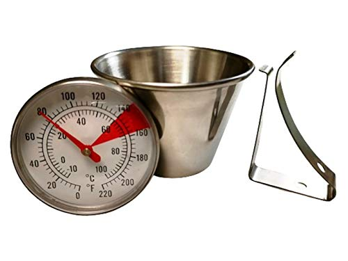 Floating Thermometer for Cheese Making, Yogurt Making,...