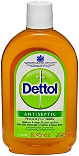 Dettol Antiseptic 8.45oz (250ml) x1