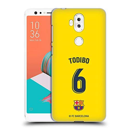 Officiële FC Barcelona Jean-Chair Todibo 2019/20 Spelers Uit Kit Group 2 Hard Back Case Compatibel voor Asus Zenfone 5 Lite ZC600KL