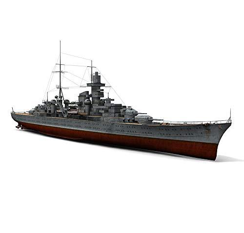 EP-Toy Papel De Los Niños Modelo Kits, 1/220 Militar Japonesa Hecha A Mano Kaohsiung Crucero Pesado Rompecabezas Juguetes, 40 Pulgadas X 3.9 Pulgadas