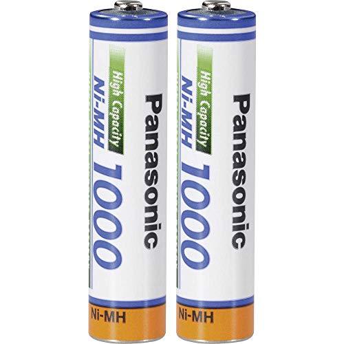 Panasonic AAA 1000mAh Akkus für Schnurlose Telefone Siemens Gigaset A415 C430 S810 E500 E500A A580 A585 A400 A415 Duo / Trio