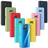 Oududianzi - Hülle für Xiaomi Poco X3 NFC/Poco X3 Pro, Weiche TPU-Silikon Hülle Dünne & Leichte & Stoßfeste Anti-Kratz Anti-Tropfen Schutz-hülle aus Flexiblem Gummi-[9 Farben]