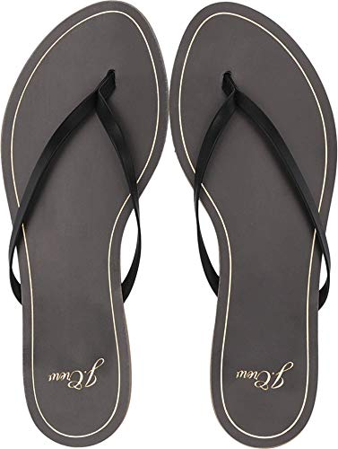 J.Crew Women's New Capri Leather Flip-Flop