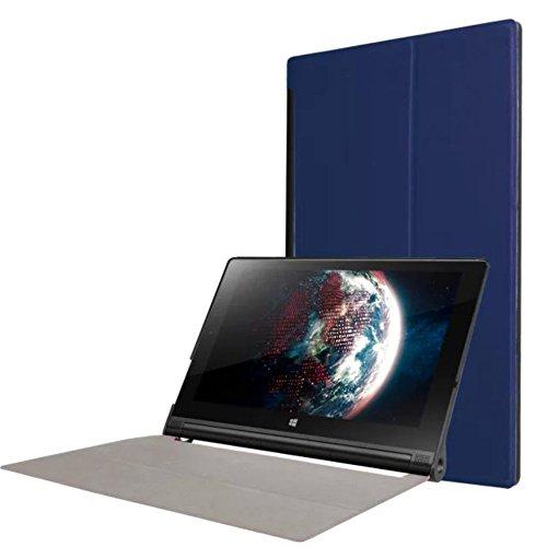 Lobwerk Tasche für Lenovo Yoga Tab 3 10 YT3-X50 F L 10.1 Zoll Schutz Hülle Flip Tablet Cover Case (Blau)