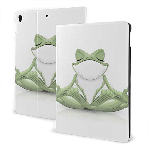 Ipad Air 3 Generation Case Funny Frog Doing Yoga Slim Shell Ipad Pro 10.5 Smart Auto Wake Sleep Cover