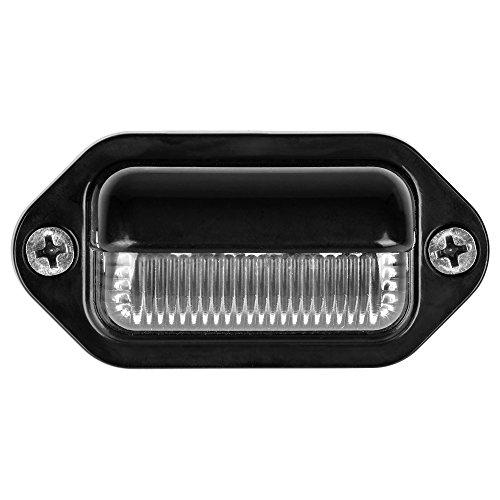 Lumitronics RV 12V LED License Plate Light Lamp - Waterproof Convenience Courtesy Light - Super Bright
