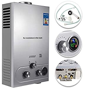 Guellin LNG Calentador de Agua de Gas Natural Calentador de Agua Calentador de Agua Automático Calentador de Agua Instantáneo Natural Gas Water Heater (12L)