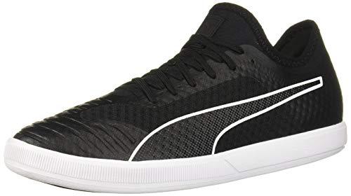 PUMA Men's 365 Concrete Lite Futsal-Shoe, Black White, 9.5 M US