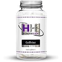 Health Hack - Cafeína, 200 mg, 100 comprimidos
