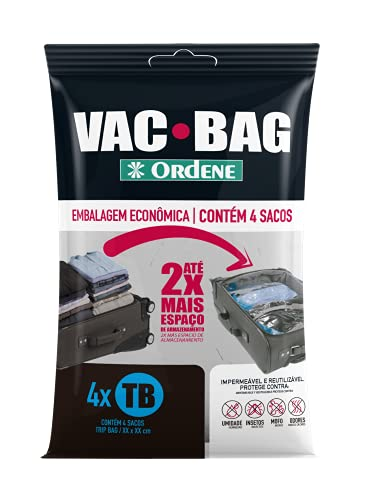 Conjunto VAC BAG 4 Sacos Trip, Ordene