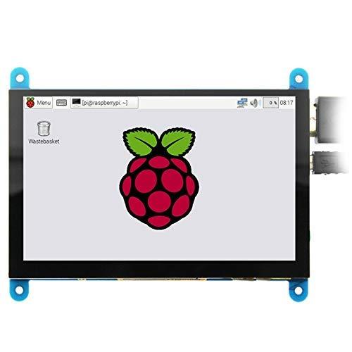 GYW-YW Modul 5-Zoll-LCD-HDMI Drücken Screen Display TFT-LCD-Panel Module 800x480 for Raspberry Pi 3B + / 4B