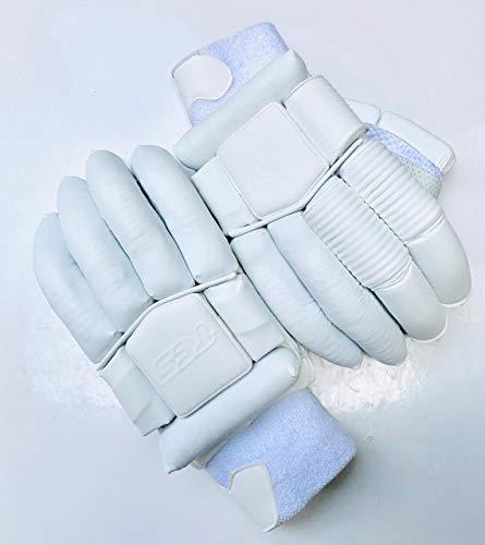 STC TCS Cricket-Handschuhe, limitierte Auflage, Weiß