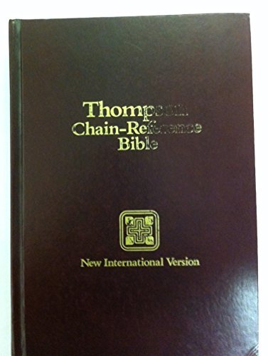 Holy Bible, New International Version: Chain-Reference Bible, Red Letter