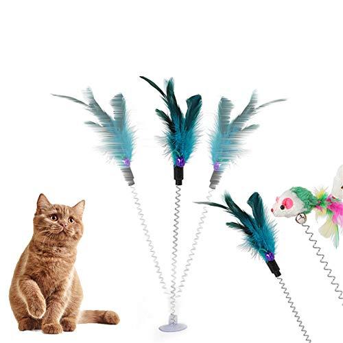 OUTANG Katzen Spielsachen Katzenspielzeug Beschäftigung Kätzchen-Spielwaren für...