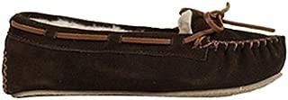 (ミネトンカ)MINNETONKA 4012 CALLY SLIPPER キャリー スリッパ US7(約23.5-24.0cm) CHOCOLATE[ 4012 ](並行輸入品)