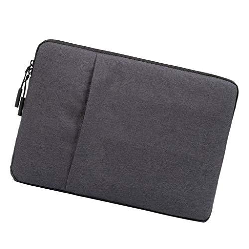 Shiwaki 13.3 Inch Laptop Sleeve Case Liner Bag Cover For MacBook Air/Pro/Pro Retina - Dark Grey