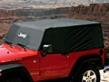 Jeep Genuine Accessories 82210321 Black Vehicle Cover