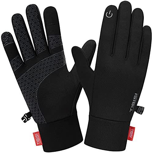 MIBEI Touchscreen Handschuhe Herren Damen Winter Handschuhe Elastisch Leicht Fahrradhandschuhe Laufhandschuhe Warme Winterhandschuhe