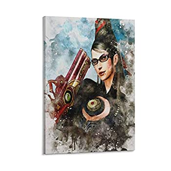 XHST Bayonetta 2 Poster Decorative Painting Canvas Wall Art Living Room Posters Bedroom Painting 20×30inch 50×75cm