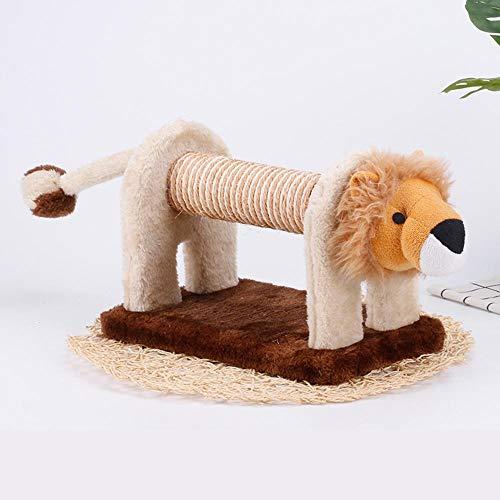 Axiba Kletterbaum für Katzen,Katze Kletterseil Frame Schwert Tragen Abrieb Kralle Katze Klettern Spalte für Spiel 19 cm * 16 cm * 58 cm