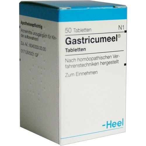 GASTRICUMEEL 50St Tabletten PZN:407635