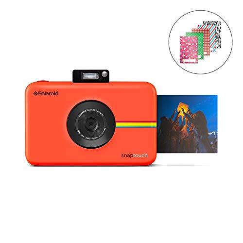 Polaroid SNAP Touch 2.0 13MP Tragbare Digitale Sofortbildkamera mit LCD Touchscreen Display, Zink Null Tinte Drucke 2x3, Rot