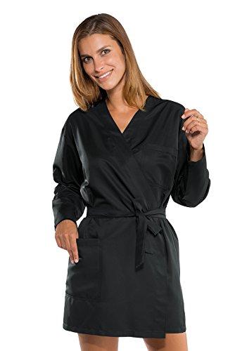 Isacco Kimono Cliente zwart, M, 100% polyester Superdry