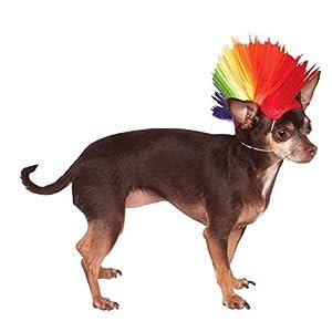 Rubie's Rainbow Mohawk Pet Wig