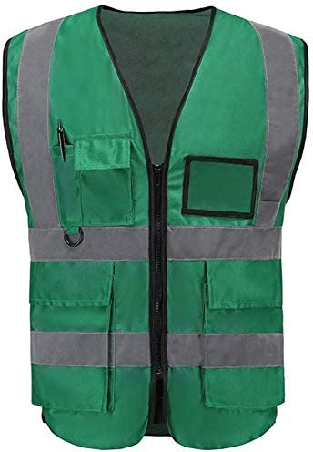 TYTZSM Green Reflective Safety Vest Cheap super special price Light and Cl service Work Breathable