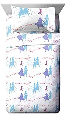Jay Franco Disney Frozen 2 Sister Dots 4 Piece Full Sheet Set