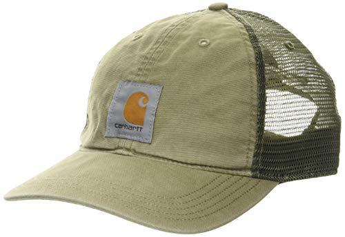 Carhartt Buffalo Cap gorras, Burnt Olive, OFA para Hombre